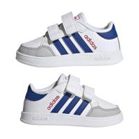 adidas Breaknet I Sneaker Kinder - FTWWHT/ROYBLU/VIVRED - Größe 23-