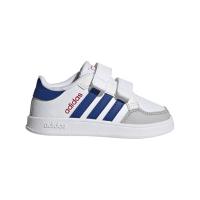 adidas Breaknet I Sneaker Kinder - FTWWHT/ROYBLU/VIVRED - Größe 26