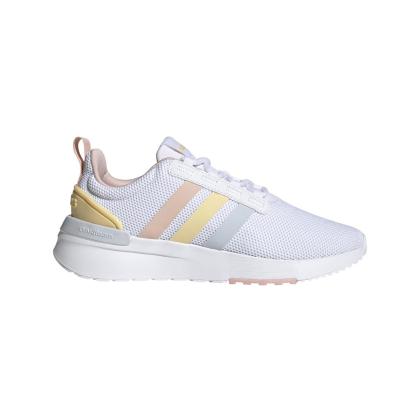 adidas Racer TR 21 K Sneaker Kinder - FTWWHT/HALBLU/VAPPNK - Größe 32