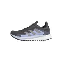adidas Solar Glide 4 GTX W Runningschuhe Damen - GRESIX/SILVMT/VIOTON - Größe 5