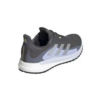 adidas Solar Glide 4 GTX W Runningschuhe Damen - GRESIX/SILVMT/VIOTON - Größe 8