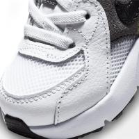 Nike Air Max Excee Sneaker Kinder - WHITE/BLACK-IRON GREY-VOLT - Größe 6C