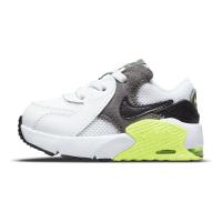 Nike Air Max Excee Sneaker Kinder - WHITE/BLACK-IRON GREY-VOLT - Größe 8C