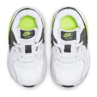 Nike Air Max Excee Sneaker Kinder - WHITE/BLACK-IRON GREY-VOLT - Größe 9C