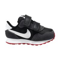Nike MD Valiant Sneaker Kinder - BLACK/WHITE-DK SMOKE GREY-UNIVERSIT - Größe 6C