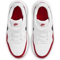 Nike Air Max SC Sneaker Kinder - WHITE/BLACK-UNIVERSITY RED - Größe 3Y