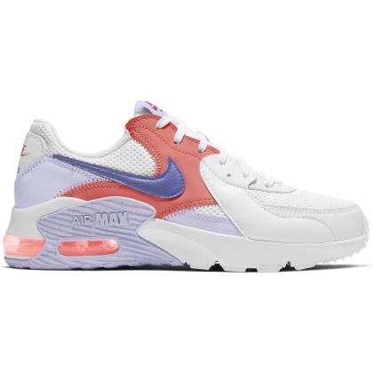 Nike Air Max Excee Sneaker Damen - WHITE/SAPPHIRE-PURE VIOLET-MAGIC EM - Größe 9