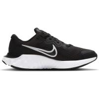 Nike Renew Run 2 Runningschuhe Kinder - BLACK/WHITE-DK SMOKE GREY - Größe 4Y
