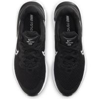 Nike Renew Run 2 Runningschuhe Kinder - BLACK/WHITE-DK SMOKE GREY - Größe 5.5Y