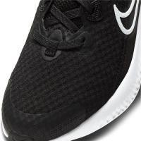 Nike Renew Run 2 Runningschuhe Kinder - BLACK/WHITE-DK SMOKE GREY - Größe 6Y