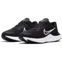 Nike Renew Run 2 Runningschuhe Kinder - BLACK/WHITE-DK SMOKE GREY - Größe 7Y