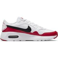 Nike Air Max SC Sneaker Kinder - WHITE/BLACK-UNIVERSITY RED - Größe 5.5Y