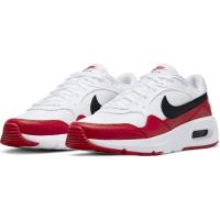 Nike Air Max SC Sneaker Kinder - WHITE/BLACK-UNIVERSITY RED - Größe 6.5Y