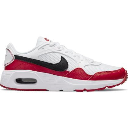 Nike Air Max SC Sneaker Kinder - WHITE/BLACK-UNIVERSITY RED - Größe 6Y