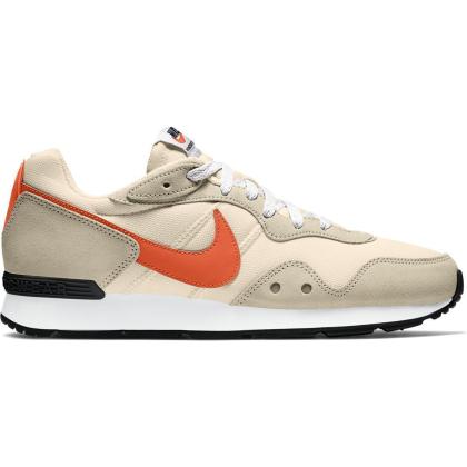 Nike Venture Runner Sneaker Herren - PEARL WHITE/ORANGE-RATTAN-WHITE - Größe 12