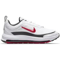 Nike Air Max AP Sneaker Herren - WHITE/UNIVERSITY RED-BLACK - Größe 12
