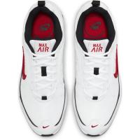 Nike Air Max AP Sneaker Herren - WHITE/UNIVERSITY RED-BLACK - Größe 7.5