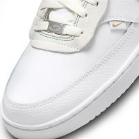 Nike Court Vision Low Premium Sneaker Herren - WHITE/GREEN NOISE-SUMMIT WHITE-SAIL - Größe 8.5