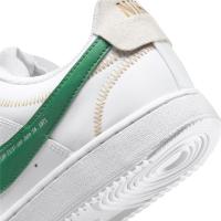 Nike Court Vision Low Premium Sneaker Herren - WHITE/GREEN NOISE-SUMMIT WHITE-SAIL - Größe 9.5