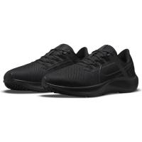 Nike Air Zoom Pegasus 38 Herren Runningschuhe - BLACK/BLACK-ANTHRACITE-VOLT - Größe 10