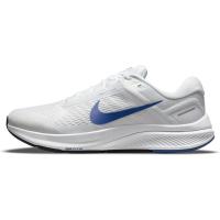 Nike Air Zoom Structure 24 Runningschuhe Herren - WHITE/HYPER ROYAL-PURE PLATINUM-BLA - Größe 11.5