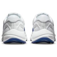 Nike Air Zoom Structure 24 Runningschuhe Herren - WHITE/HYPER ROYAL-PURE PLATINUM-BLA - Größe 9.5