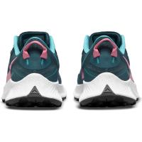 Nike Pegasus Trail 3 Runningschuhe Damen - DARK TEAL GREEN/PINK GLOW-ARMORY NA - Größe 8.5