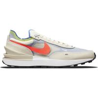 Nike Waffle One Sneaker Herren - COCONUT MILK/BRIGHT CRIMSON-HYPER R - Größe 10