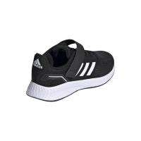 adidas Runfalcon 2.0 C Sneaker Kinder - CBLACK/FTWWHT/SILVMT - Größe 28