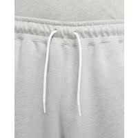 Nike Sportswear Swoosh Tech Fleece - DK GREY HEATHER/WHITE/WHITE - Größe M