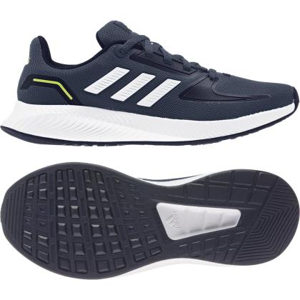 adidas Runfalcon 2.0 K Sneaker Kinder - CRENAV/FTWWHT/LEGINK - Größe 4-