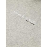 Scotch & Soda Unisex-Hoodie - Grey Melange - Größe M