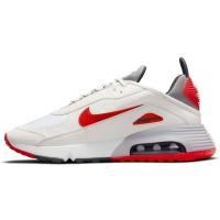 Nike Air Max 2090 Sneaker Herren - SUMMIT WHITE/CHILE RED-CEMENT GREY - Größe 8