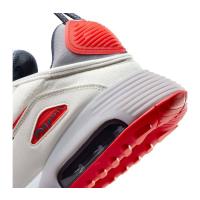 Nike Air Max 2090 Sneaker Herren - SUMMIT WHITE/CHILE RED-CEMENT GREY - Größe 10